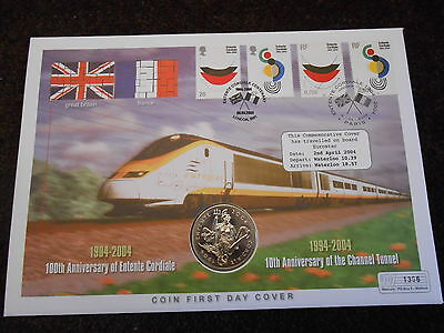 Coin First Day Covers - Entente Cordiale
