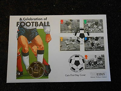 Coin First Day Cover - Celebration of Football
