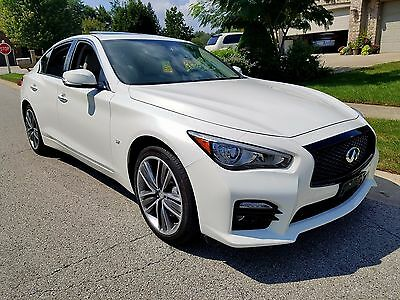 2014 Infiniti Q50 SPORT AWD. SPORT. ONE OWNER. CLEAN CARFAX. WARRANTY. LOW MILES. LOADED.