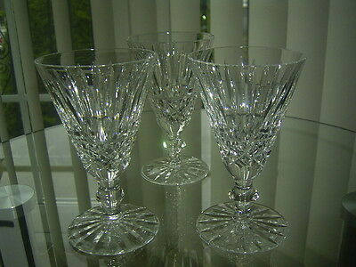 3  Waterford Crystal Tramore Sherry / Port Glasses First Quality