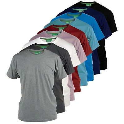 """D555 Mens Premium Weight Combed Cotton """"Crew"""" Neck T-Shirts  (FLYERS)"""