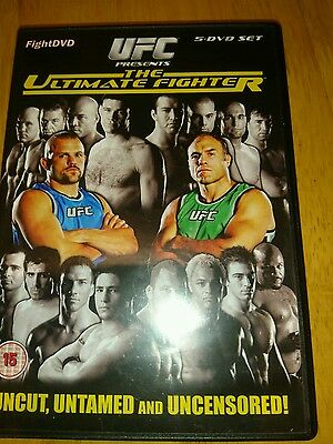 Ufc - The Ultimate Fighter - Series 1 (Dvd, 2008)
