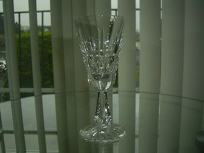 A Waterford Crystal Kylemore Sherry / Port Glass First Quality