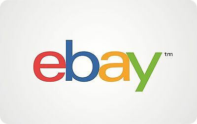 eBay Gift Card $50/$100/$200 -with free gifting packaging -US Mail delivery