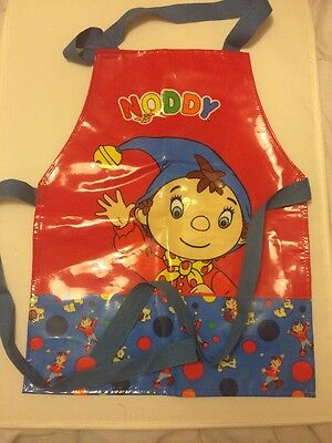Noddy Apron. Bake Off Cooking Pinny Bnwot. Painting Oilcloth Enid Blyton Baking