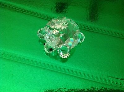 Swarovski Clear Crystal Turtle #7632 030 000 - Retired