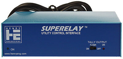 Henry Engineering Superelay On The Air Light Tally Lamp Switch GPI Controller