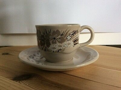 Mandalay Poole pottery  England Small Cup And Saucer