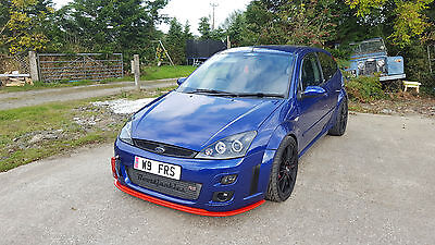 Ford Focus RS mk1 mk2 private number plate cherished reg W9 FRS