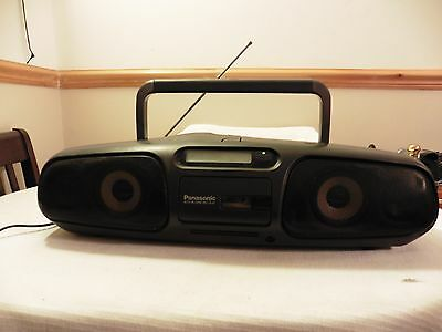 PANASONIC RX-DS45 STEREO GHETTO BLASTER Boombox cd radio tape aux JAPAN