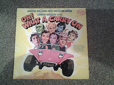 Oh what a carry on,  vinyl album
