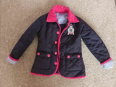 Sweet Millie Navy quilted coat age 3