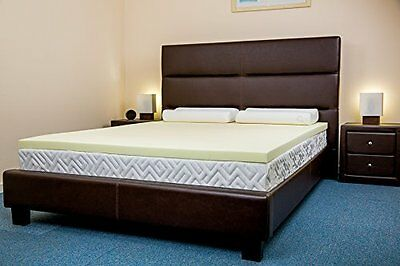 Luxury Orthopaedic Memory Foam Mattress Topper & Pillow - All Sizes & Depths