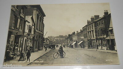 Vintage Postcard. ASHBY DE LA ZOUCH HIGH STREET, PHOTOCHROM REAL PHOTO.