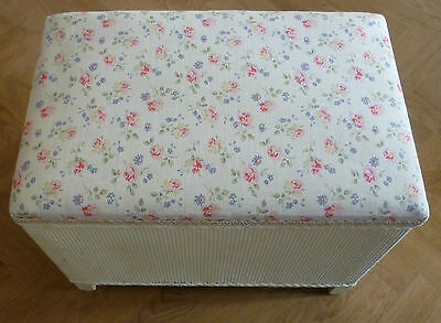 Vintage 1950's Linen Box with Cath Kidston Fabric Top