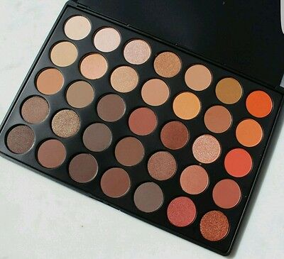 Brand New MORPHE BRUSHES 35O~350 EYESHADOW PALETTE SHADOW NATURE GLOW
