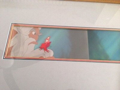 Disney's Little Mermaid Trident Production cell & Production Backgrd Sothebys
