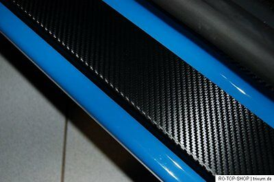 Carbon Style door sill protectors Nissan Juke Carbon Film