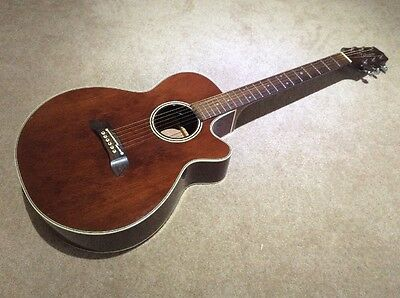 Takamine EF261S AN Electric Acoustic Guitar With Case
