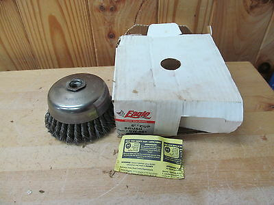 "Eagle BW-461 6"" Cup Wire Brush New In Damaged Box"