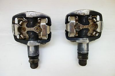 Shimano PD-M535 SPD double sided pedals
