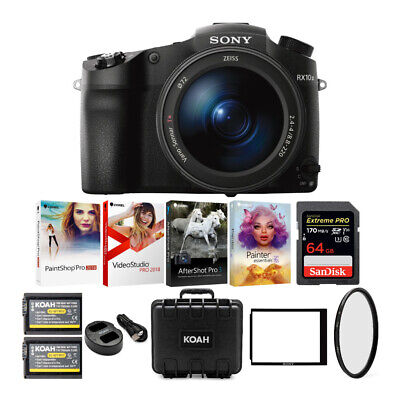 Sony DSC-RX10 III Cyber-shot Digital Camera with 64GB Card and Accessory Bundle