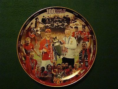 Manchester United commerative plate