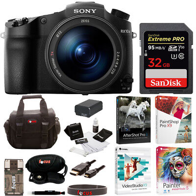 Sony DSC-RX10 III Cyber-shot Digital Still Camera with 32GB Accessory Bundle