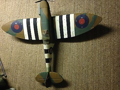 "Radio Controlled Aeroplane Aircraft Spitfire 54"" Span with Radio and Engine"