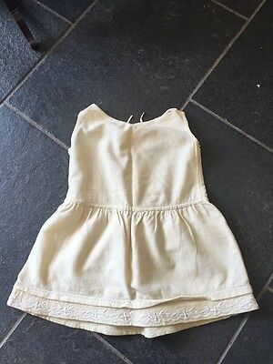 Vintage Girls/ Toddlers Embroidered Wool Underwear Slip Petticoat
