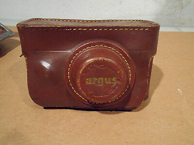 Vintage Argus C3 50mm Coated Cintar Camera/with case-