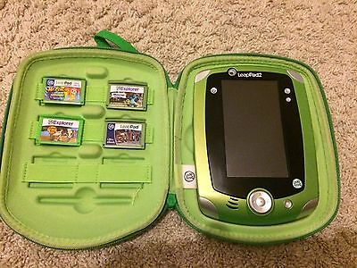 LeapPad 2 - Leap Frog - Used But In Good Condition With 5 Games