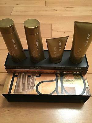 Joico K-Pak 4 Step Repair,Clarifying-Cuticle-Reconstructor-Hydrator,FREE TRACKED