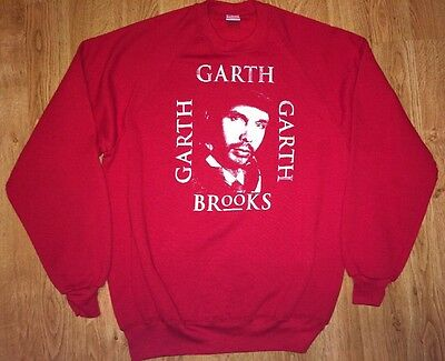 Vtg Garth Brooks Sweatshirt X-Large Country Music
