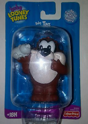 2003 Fisher-Price Warner Bros. Baby Looney Tunes Baby Taz Toy Figure New Sealed