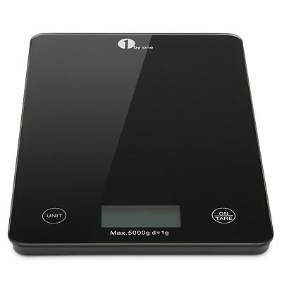 A Professional Touch Digital Kitchen Food Scale Tempered Glass Max 5000g 11lbs