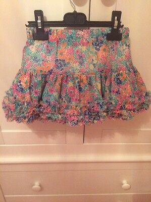 Joules Layered Frill Girls Skirt Age 6