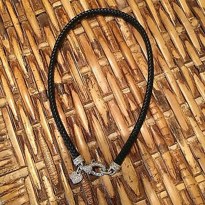 Judith Ripka Leather Necklace