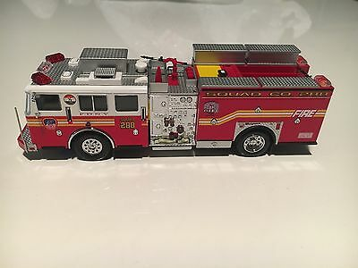 Code 3 Collectibles FDNY Squad Co.288 Preserve The Honor Item 12651