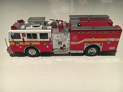 Code 3 Collectibles FDNY Squad Co.41 Preserve The Honor Item 12655