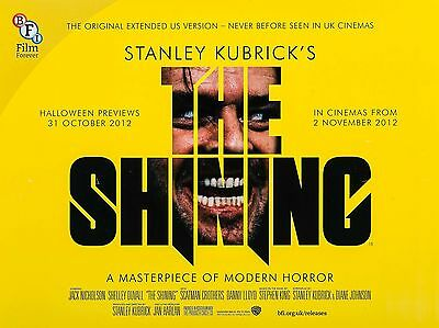 """The Shining 1980 16"""" x 12"""" Reproduction Movie Poster Photograph 2"""