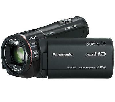 Panasonic HC-X920 Full Expert HD Camcorder - Black (20.4MP, 1920 x 1080P)