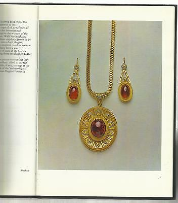 VICTORIAN JEWELRY: Book showing finest examples, with many color photos! Rare!