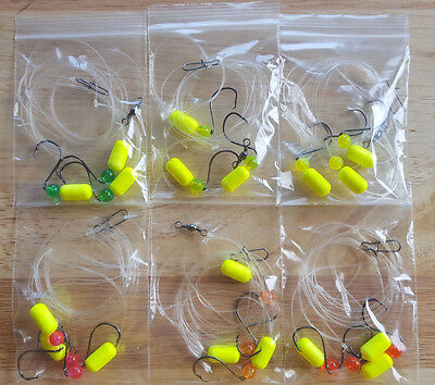 6 - Surf Fishing Rigs, Pier Rigs, Boat Rigs, 3 - Hook Rigs (Free Shipping)