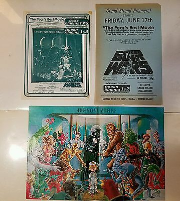 STAR WARS original 1977 posters, PREMIER EXTREMELY RARE