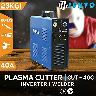 Plasma Cutter 40A with Compressor DC IGBT Inverter Welder  Portable Air Welding