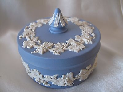Wedgwood  Blue Jasper Ware Lidded Bowl
