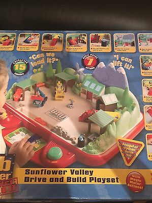 Bob The Builder Sunflower Valley Drive And Build Play set