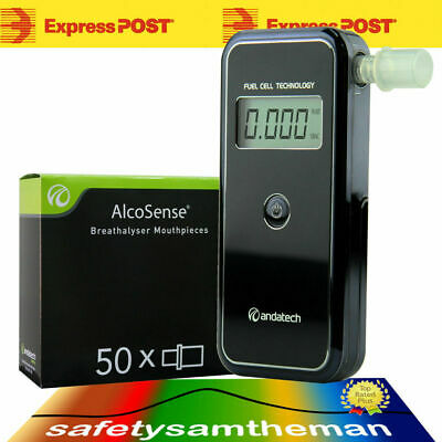 BONUS OFFER - ANDATECH AlcoSense STEALTH AL-9000 BREATHALYSER + X50 MOUTHPIECES