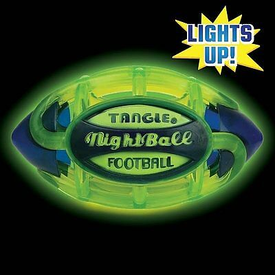 Tangle Sportz Night Football Matrix Footy Airless Design GLOW IN DARK by Wahu